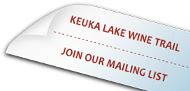 Keuka Lake Wine Trail, Join Our Mailing List